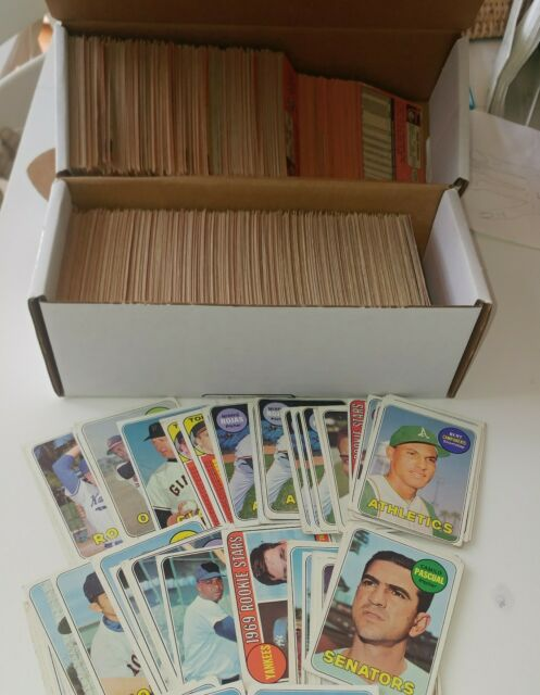 50 picks $26 1969 Topps Baseball  VG Huge List Lot UPick Complete your Set