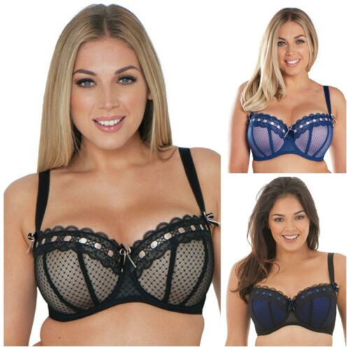 Details about  /Curvy Kate Tease Underwired Balcony Bra SG2001 Womens Lightly Padded Bras