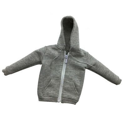 1:6 Scale Action Figure Top Clothes Hoodie Street Style Hoodies Pack of 2pcs