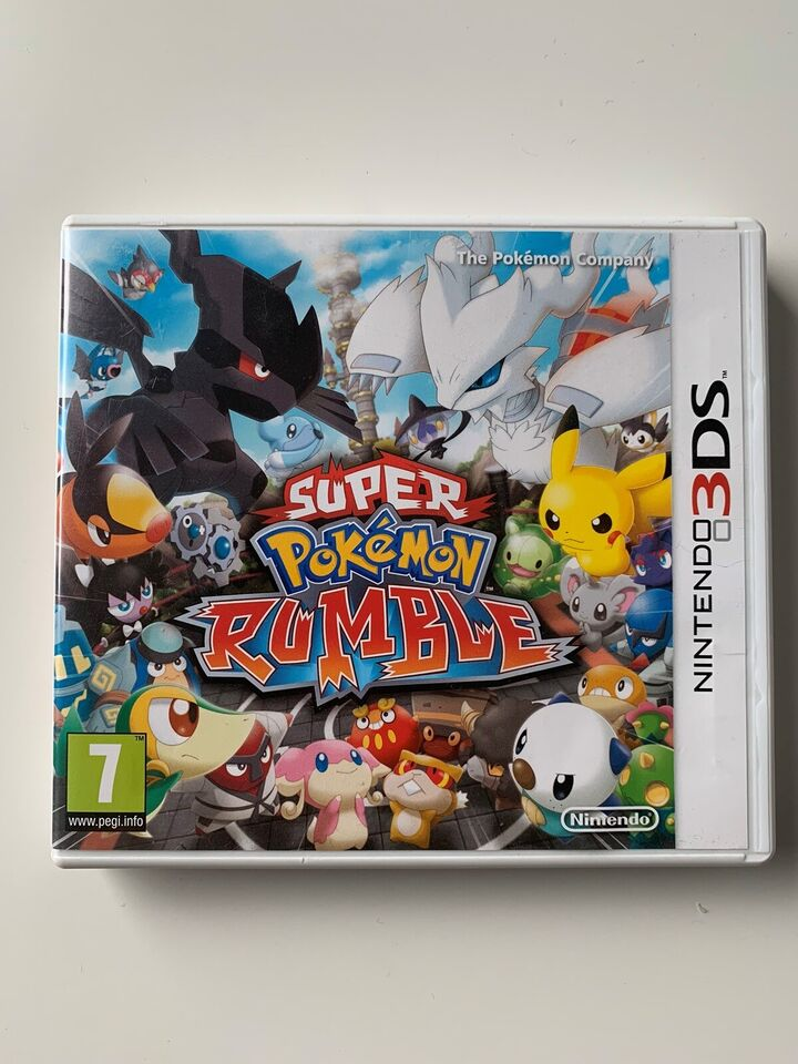 Super Pokemon Rumble, Nintendo 3DS