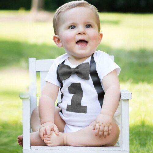 1 Year Girl Baby First Birthday Dress Unicorn Tutu Headband One Outfit