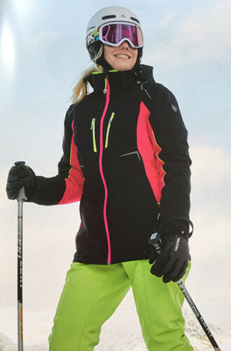 36-44 Damen Skijacke Killtec  Doka UVP 179,95€ schwarz pink lime Gr
