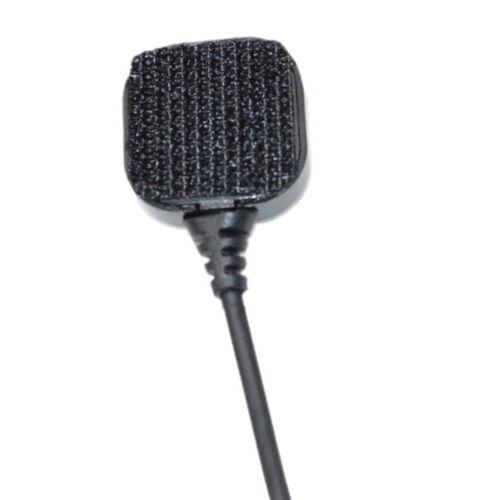 4-Pack Acoustic Tube Earpiece Throat Mic Headset for Retevis H-777 RT-5R RT-5RV