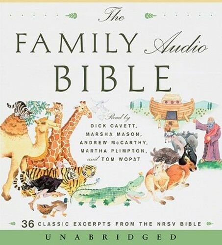 The Family Audio Bible: 36 Classic Excerpts from the NRSV ...