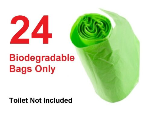 Portable Camping  Festival Toilet Biodegradable Compostable Bags Fast Free Post