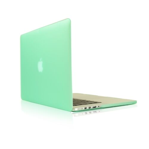 """LCD Key Cover Bag 4 in1  Rubberized GREEN Case for Macbook PRO 15/"""" Retina"""