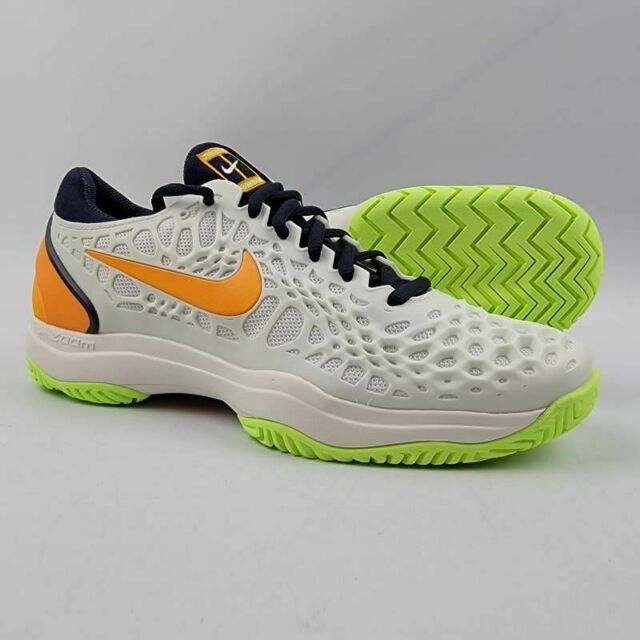 Size 7.5 - Nike Air Zoom Cage 3 HC White Orange Peel for sale ...