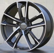 "19"" Wheels For Audi A3 A4 A6 VW Passat Jetta Golf EOS 19X8.5 +45 5X112 Rims Set"