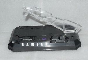 New Transformers Figure Base Stand Fit for Masterpiece MP11SW Skywarp In Stock