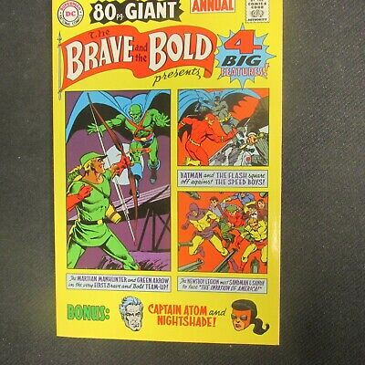 Brave and the Bold #28 FACSIMILE DC VF//NM 10486