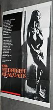 SEXPLOITATION original 1974 movie poster USCHI DIGARD OneSheet MIDNIGHT GRADUATE
