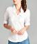 NEW-Plus-Size-Cotton-Button-Front-Shirt-Blouse-3-4-Sleeve-L-XL-1X-2X-3X thumbnail 3