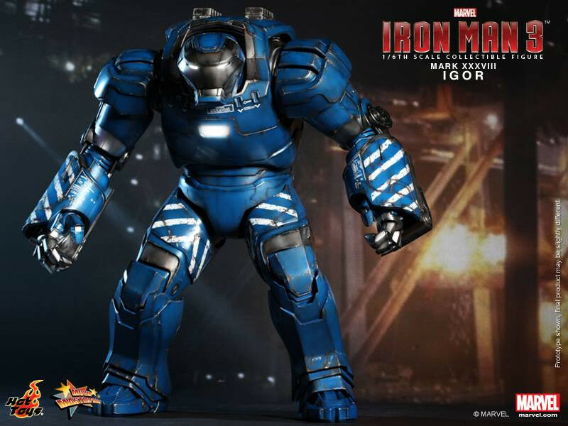 Hot Toys Igor Mk XXXVIII-Iron Man 3 MMS215 UK