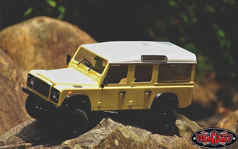RC4WD Gelande II LWB RTR Camión Kit con defender defender defender D110 Cuerpo Set Z-RTR0032 G2  la mejor selección de