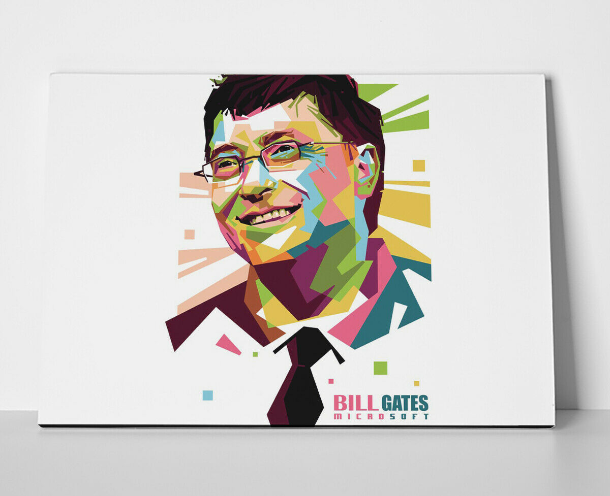 Bill Gates Poster or Canvas