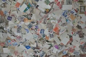 6-oz-2000-to-2500-Stamps-Worldwide-Foreign-Stamps-off-Paper-Bulk-Lot-GRAB-BAGS