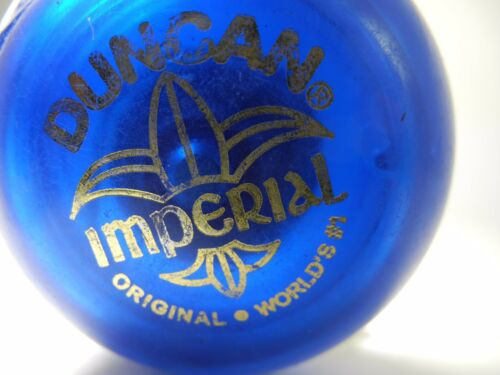 VINTAGE DUNCAN IMPERIAL YoYo Blue NICE WITH STRING