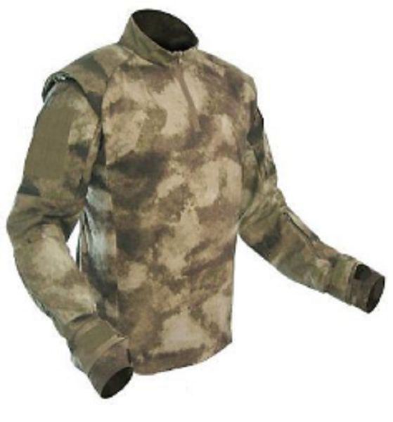 PROPPER MILITARY A-TACS Battle Rip Army Army Army Tactical TACU Combat US Shirt  XXLL b18e45