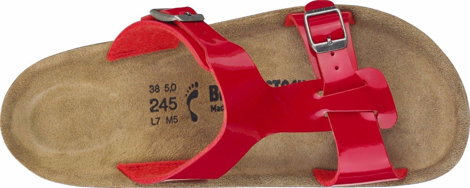 Birkenstock sofía tango red charol tamaño 36,37,38,39,40,41,42 plantilla estrecho