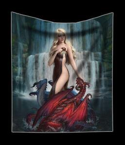 Couvre-lit-avec-dragons-Dragon-Bathers-James-Ryman-FANTASIE-DOUX-PLAID