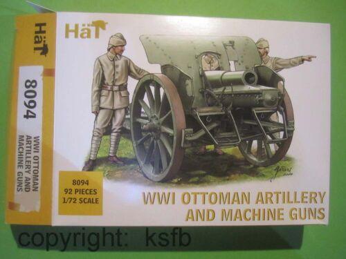 MG 1:72 HäT 8094 WKI Ottomann Artillerie Türkei Kanone 10,5 Haubitze Geschütz