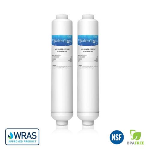 2 x Frigo corrivazione Filtro di ricambio per Samsung Aqua-Pure PLUS DA29-10105J