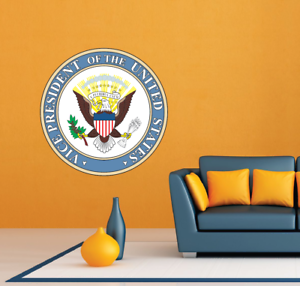 """Vice President of the United States Seal Wall Room Decor Sticker Decal 22/""""X22/"""""""