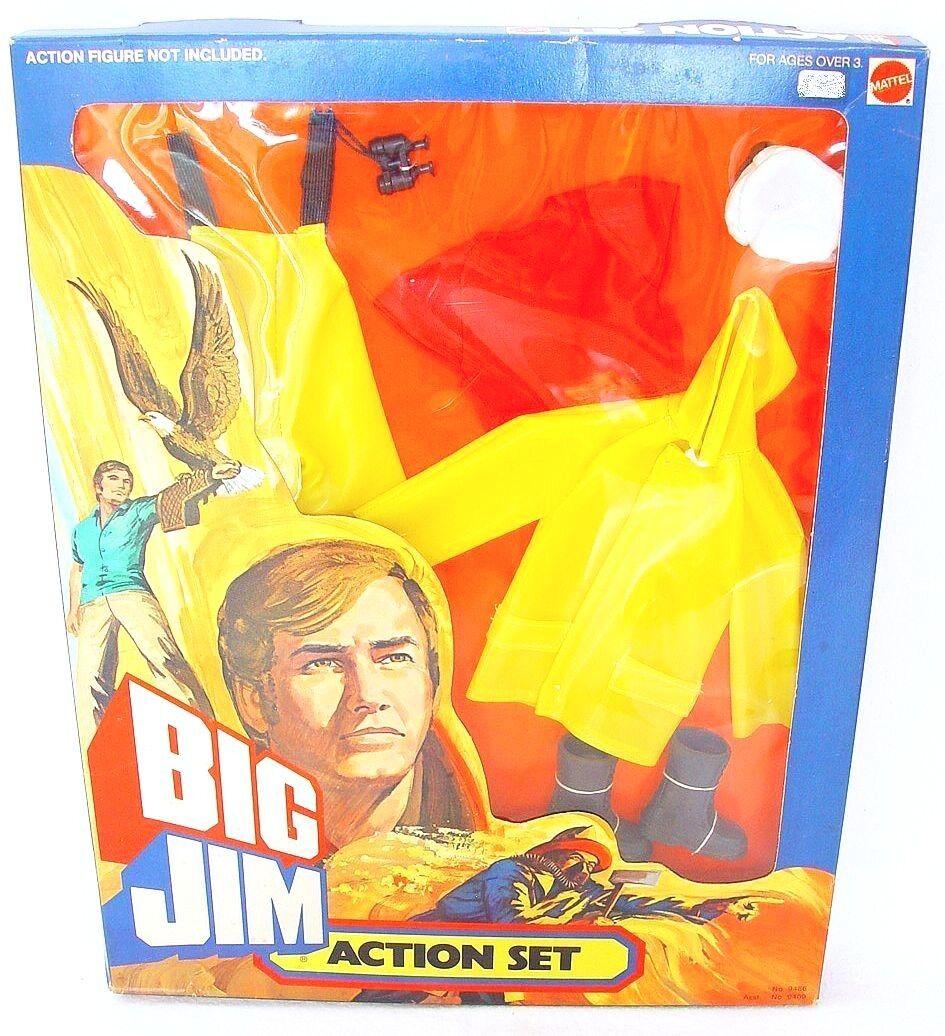 Mattel USA BIG JIM 10  USA NAVY MASTER MARINER Action Figure OUTFIT Set MISB`76
