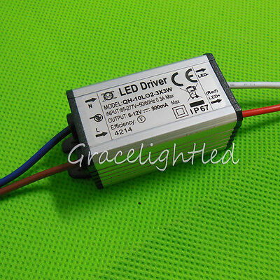 Waterproof Power Supply LED Driver 3W 10w 20w 30w 50w 100w 150W 200W light chip