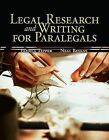 Legal Research and Writing for Paralegals by Pamela R Tepper, Neal R Bevans (Paperback / softback, 2008)