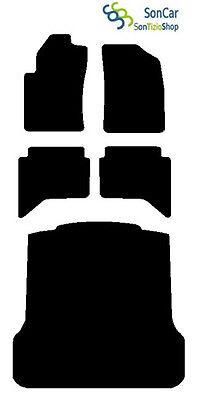 4block TAPPETI AUTO tappetini con baule DAL 2006 DAIHATSU TERIOS SERIE 2