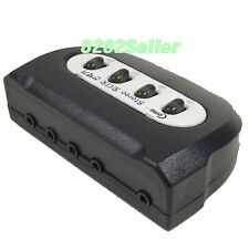35mm 8 Port Stereo Speaker Audio Manual Sharing Switch Selector Way