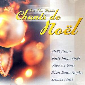 Compilation-CD-Les-Plus-Beaux-Chants-De-Noel-France-EX-VG