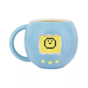 Tamagotchi Shaped Heat Change Mug NEW