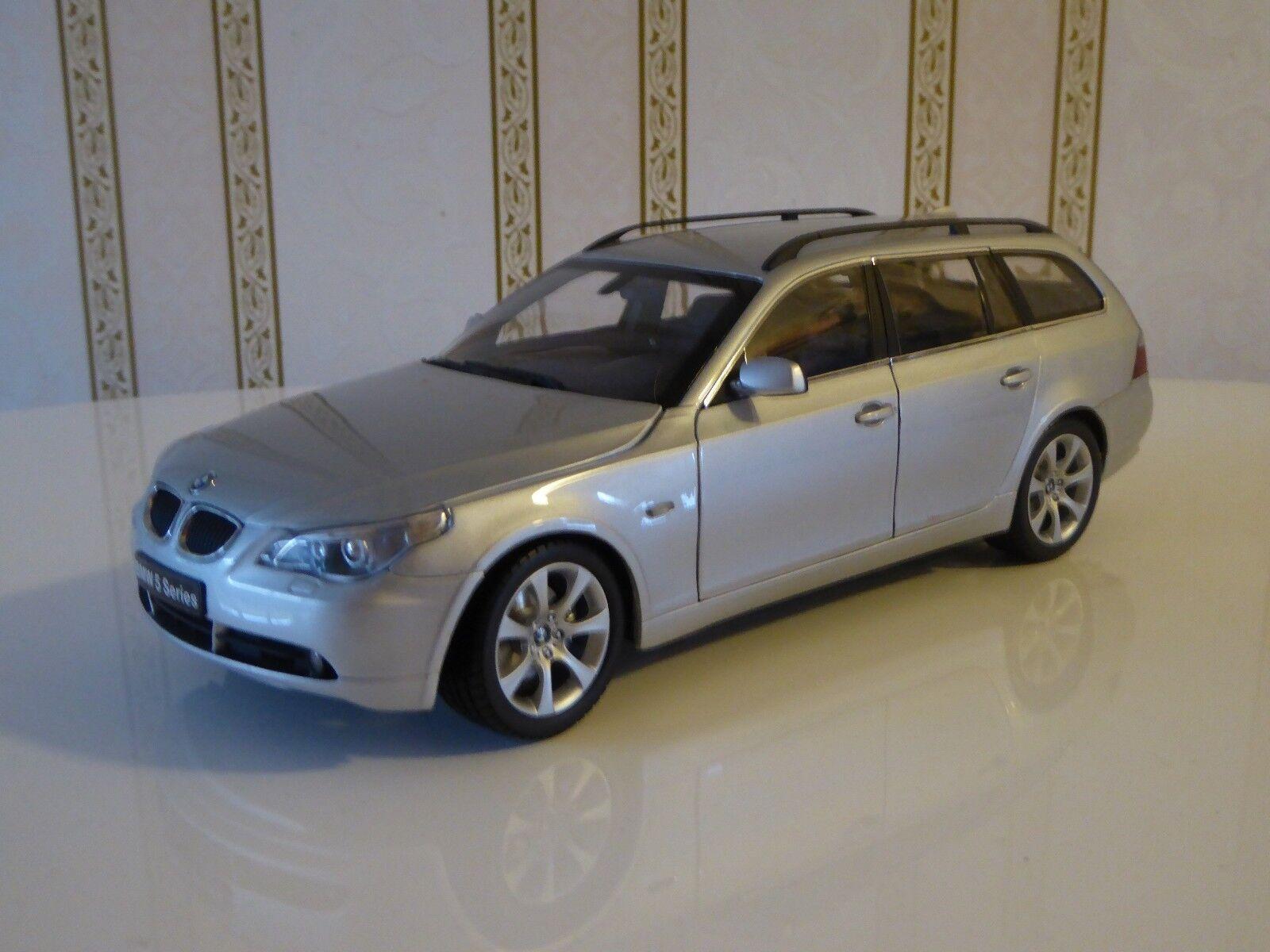 KYOSHO 1 18 BMW 545i Touring série 5 Argent No.08592S - superbe modèle