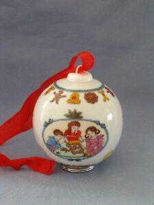 Hutschenreuther-Weihnachtskugel-1996-Porzellan-TOP