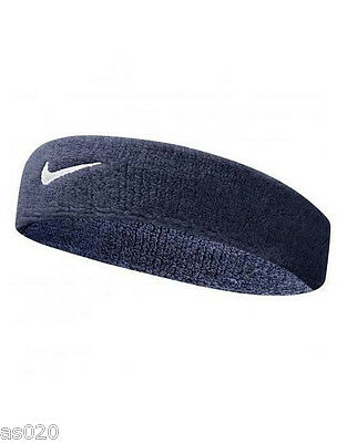 Nike Swoosh Tennis Squash Badminton Sports Gym Headband Head Band - All Colours