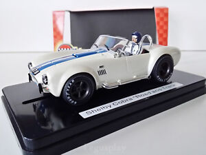 """Le Prix Le Moins Cher Slot Scalextric Mrrc Mc0023 Shelby Cobra 427 S/c """"road And Track"""""""