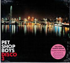 "PET SHOP BOYS  ""DISCO 3""  CD DIGIPACK  NUOVO SIGILLATO"