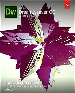 Details about Adobe Dreamweaver CC Classroom in a Book 2018 Release,  Paperback by Maivald,