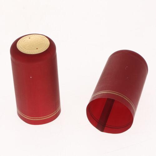 100pcs//Set Schrumpfkapseln Flaschenkapseln Siegelkapseln Kapseln für