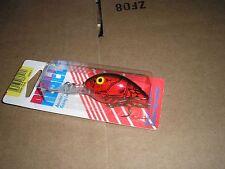 Red Black Back Fastrac Wee R Series Fishing Lure Vintage Rebel 3//8-oz