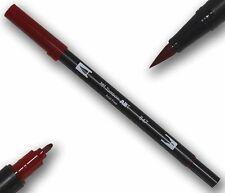Tombow ABT CRIMSON Double Brush Pen Künstlerstift zwei Spitzen Tätowierer Stift