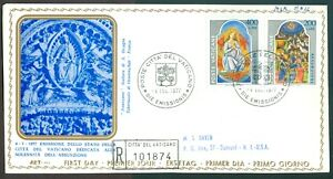 Vatican-City-Sc-615-16-Feast-of-the-Assumption-on-Registered-FDC