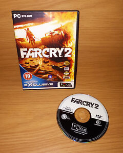 Details about Far Cry 2 PC Game PC/DVD Boxed No Manual