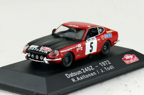 Datsun 240z rally monte carlo 1972 #5 1:43 atlas maqueta de coche 03