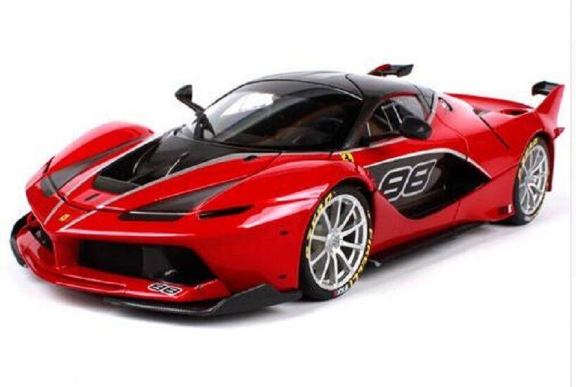 Bburago 1 18 Signature Ferrari FXX K NO.88 Diecast Modèle Voiture de Course Véhicule