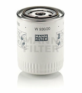 MANN-Oelfilter-Filterpatrone-W930-20