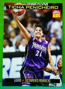 Ticha Penicheiro card 1999 Sports Illustrated For Kids #853
