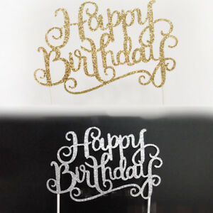 Shiny-Happy-Birthday-Letter-Cake-Topper-Party-Favor-Decoration-Supplies-Dulcet